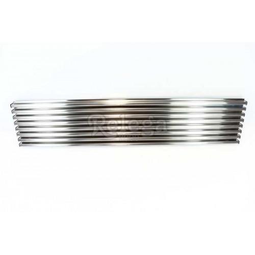 Rejilla ventilación inox 13x60cm 8varillas