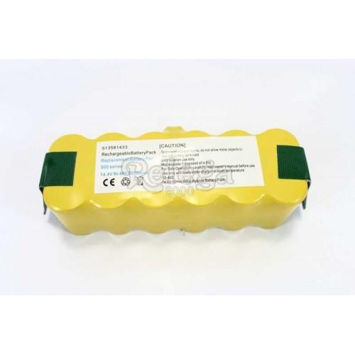 Batería recargable Roomba 14,4 VNi-MH 3500 mAh 45x44x136 mm