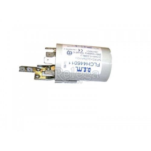 Filtro antiparasitario 1mfX2 16 A con soporte 4 terminales