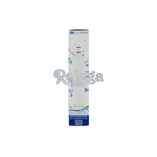 Filtro de agua para frigorífico WF004, whirlpool, Smeg, var