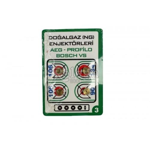 Kit de inyectores M-6 4uds...