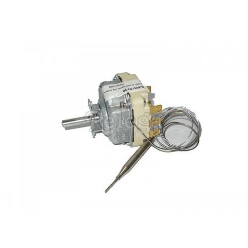 Termostato regulable HOE trifásico 50-320º estándar capilar 6x75mm  L de 0 88m 55.34052.01
