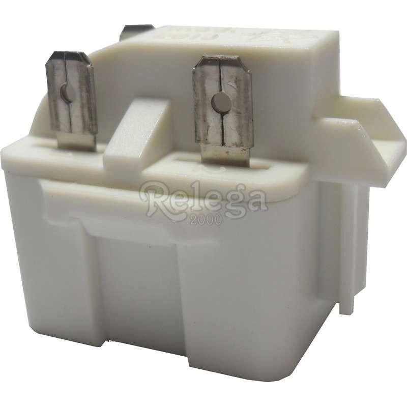 Rele compresor hasta 1/2cv con condensador de arranque