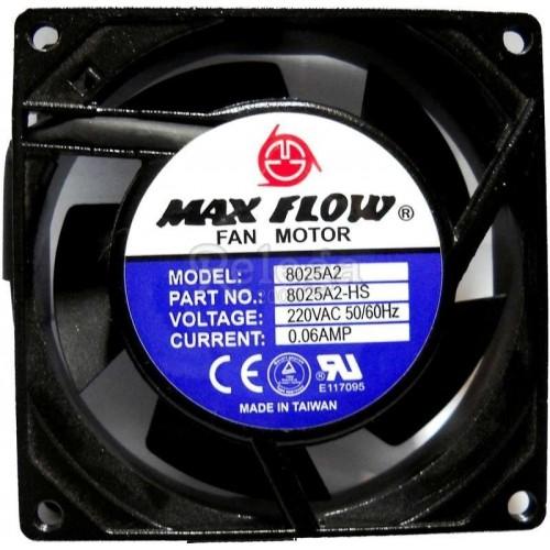 Motoventilador extractor axial 80X80X38mm