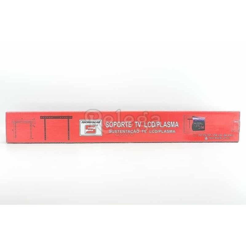 Soporte televisión Plasma 23-37 in plata 75kg PLB6