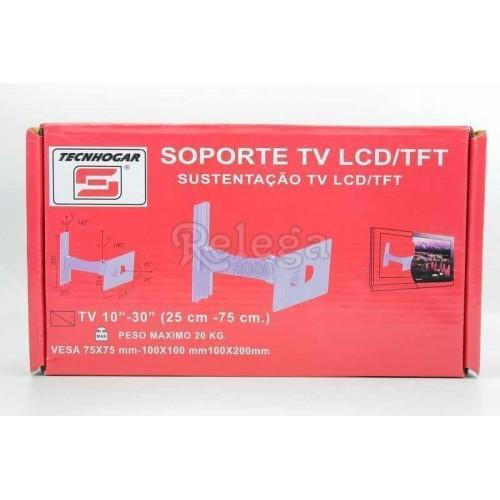Soporte televisión LCD-TFT 10-30 in brazo corto