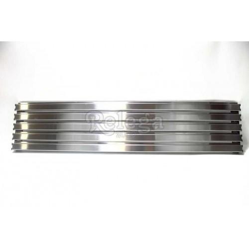 Rejilla ventilación frigo aluminio 13x60cm 5varillas