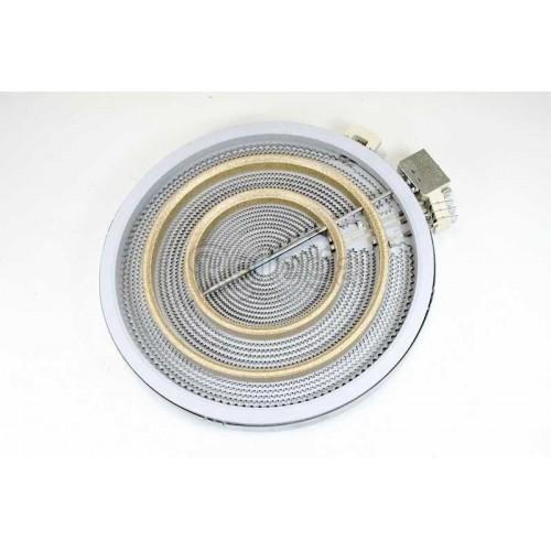 Placa vitrocerámica 300 mm 2700w 3 circuitos con regulador EGO