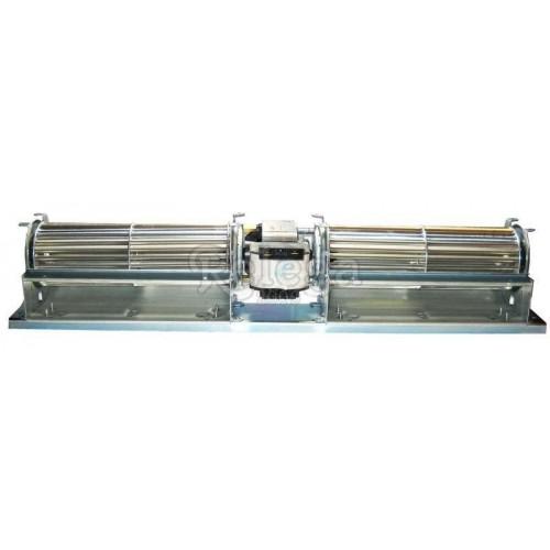 Ventilador extractor tangencial doble turbina 60x240 45W