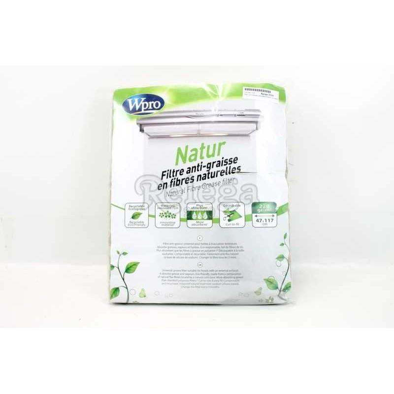 Filtro CEH fibras naturales 114x47 cm Natur WPRO