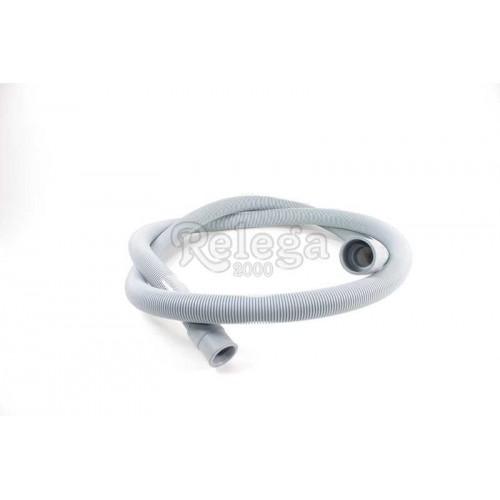 Tubo desagüe 23X1800 recto-recto 19-21 estándar