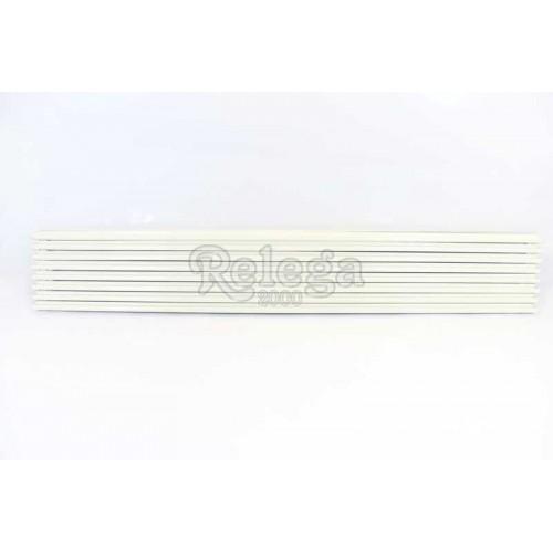 Rejilla ventilación frigo blanca 90cm 8 varillas