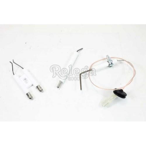Bujía y electrodo